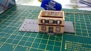 z-scale station kit   by lilspikey