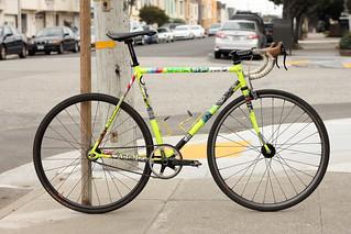 Masi Track Bike
