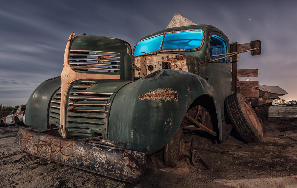 Central Valley Dodge >> Big Odge 1940 S Dodge Truck In A Central Valley Junkyard