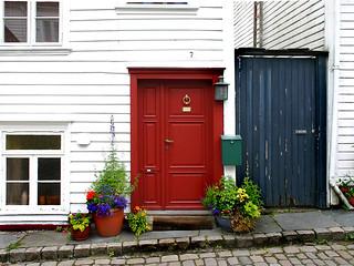 Norway: Stavanger doors