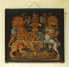 G R 2nd royal arms