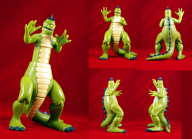 DINOSAUR NEIL SERIES 1 THE TICK TOYS SERIES  GROWING DINOSAUR NEIL