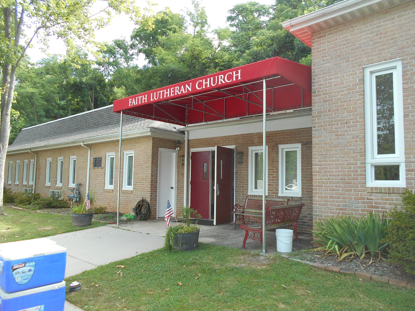 Church Awning