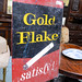 Gold flake sign