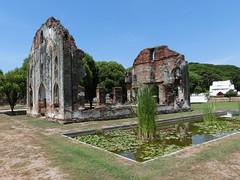 Ruine eines Elefantenstalls - National Museum Lopburi