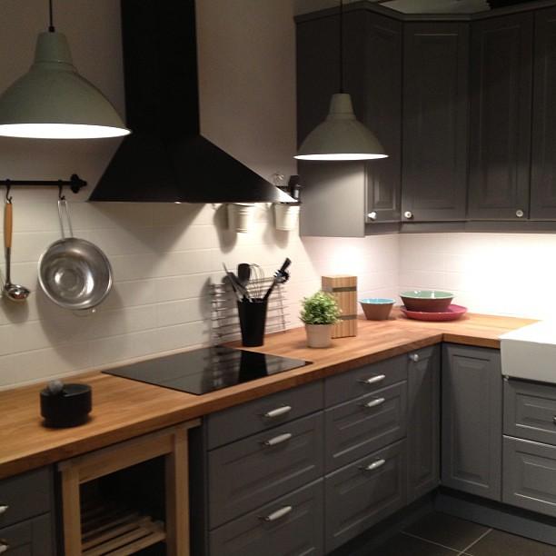 Oder die schöne Küche dieses mal in grau? #ikea #küche #ka ...