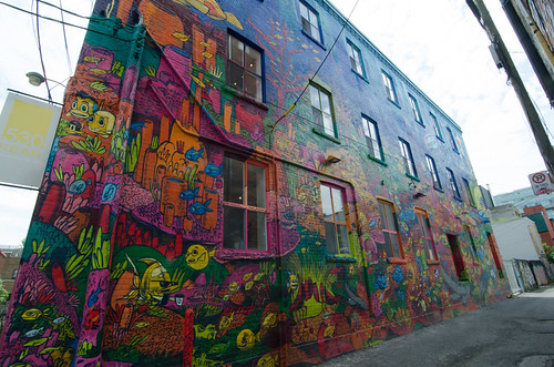 Street Art in Graffiti Alley in Toronto | by UnTapping The World