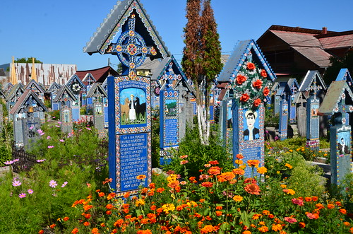 Merry Cemetery, Sapanta Village, Maramures (2) | by Prof. Mortel