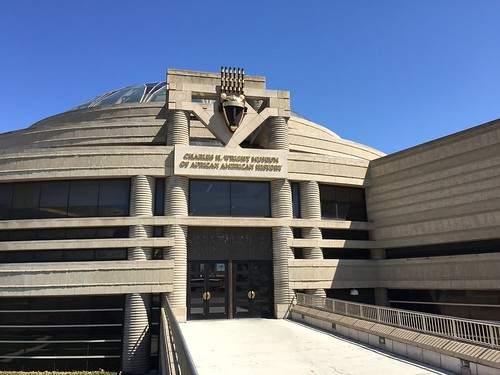 Charles H. Wright Museum of African American History front entrance