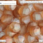 PRECIOSA Fire-Polished Beads - 151 19 001 - 00030/23451