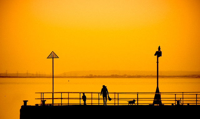 Silhouette Pier (Explored May 15, 2015)