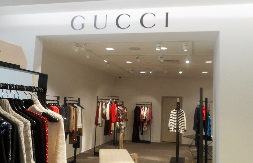 06e021d59b6235 ... Nordstrom Gucci Designer Fashion Boutique on Level 2 in downtown  Seattle, WA | by PatricksMercy