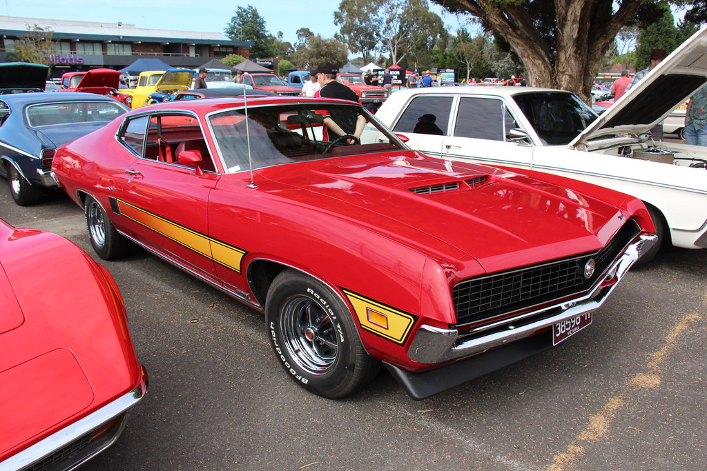 1970 Ford Torino GT Sportsroof | Candyapple Red The Ford Tor