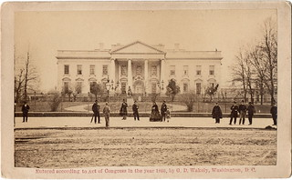 White House in 1866 | by Piedmont Fossil