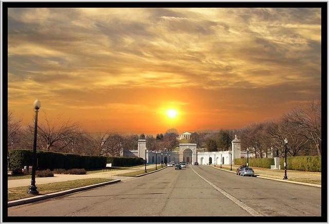 Entrance to Arlington Cemetery ~ Arlington Virginia (Washington DC Area)
