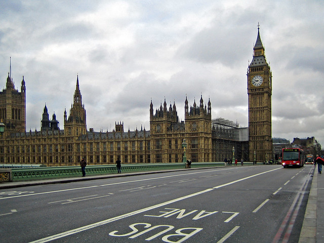 Big Ben and the Houses of Parliament - London, England