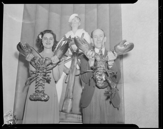 Girls - lobsters & girl, Warren Ave. Bridge