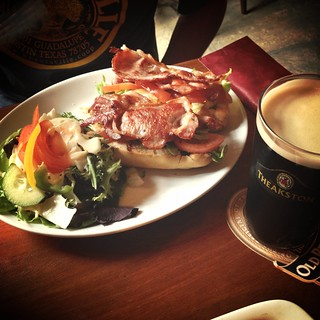 BLT and a pint of Old Peculier | by Texarchivist