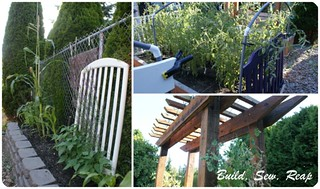 July 2013 Garden Collage 2 | by Julie {http://buildsewreap.com}