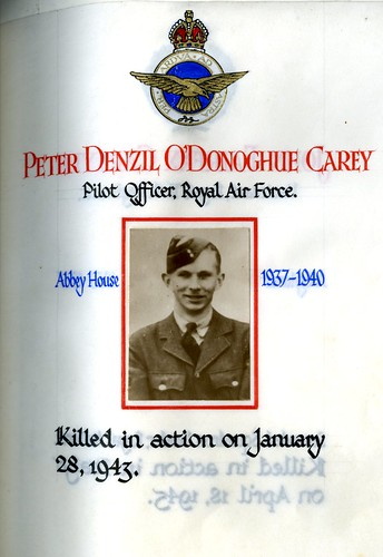 Carey, Peter Denzil O'Donoghue (1923-1943) | by sherborneschoolarchives