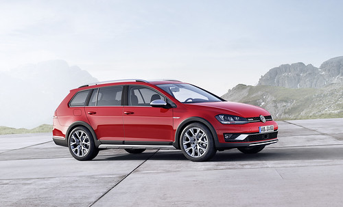 2017 VW Golf SportWagen Alltrack - 02 | by Az online magazin