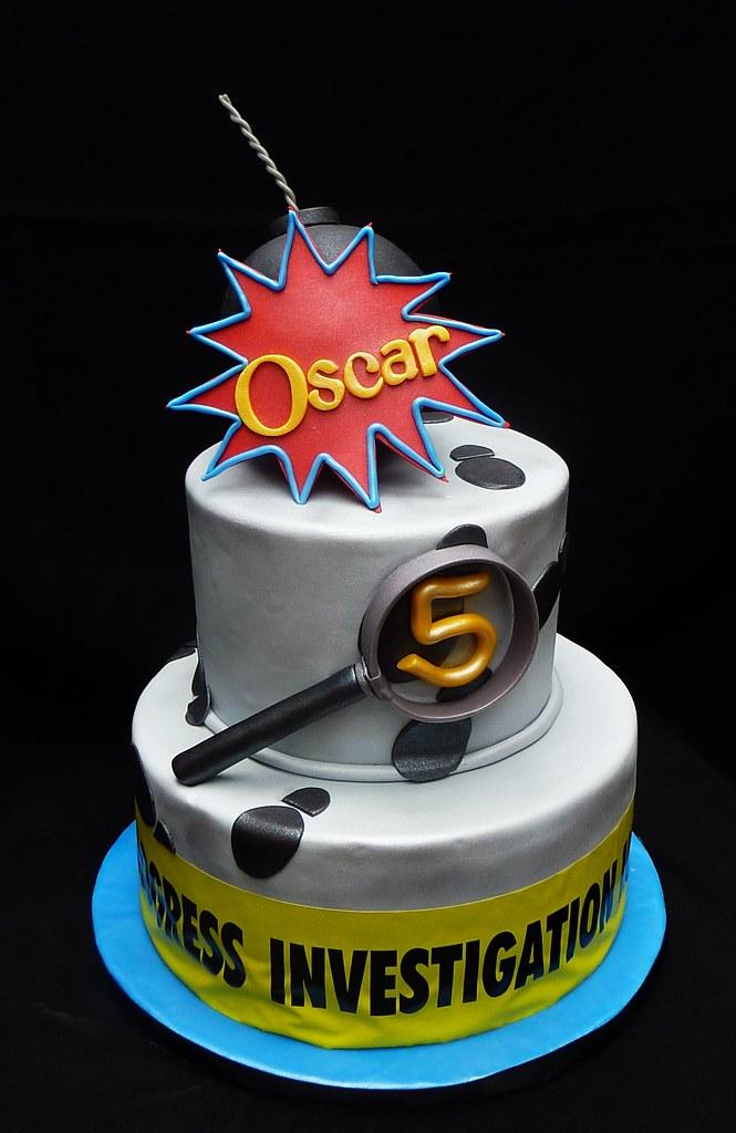 Miraculous Spy Cake Cassandra Flickr Birthday Cards Printable Giouspongecafe Filternl