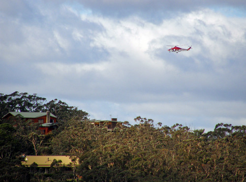 Helicopter Over Leura | by Kaptain Kobold