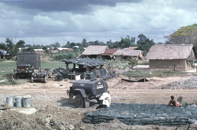 Gò Dầu Hạ - Tây Ninh - Photo by Gene Lalicker 1967/69