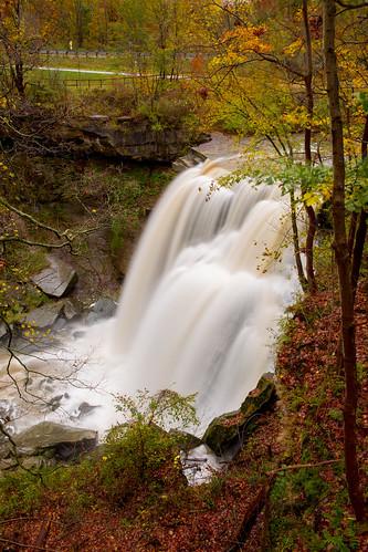 brandywine ohio waterfalls northfield unitedstates us