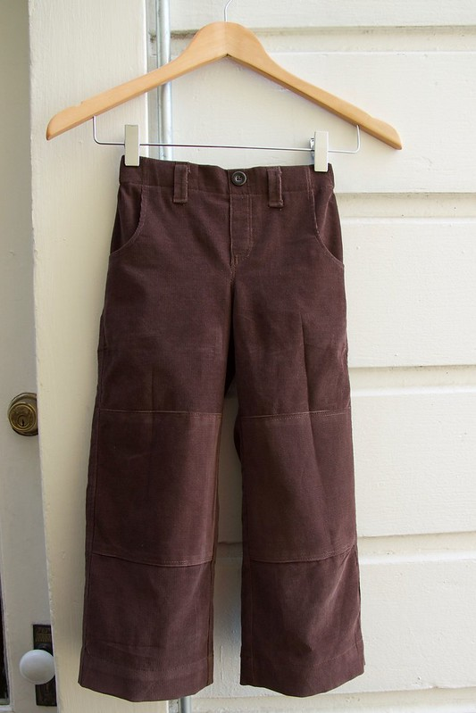 corduroy Parsley pants_front