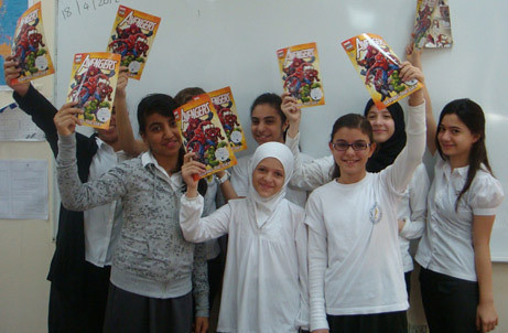 Visa and Al Dhafra School to help children become financial super heroes | by CSR Middle East