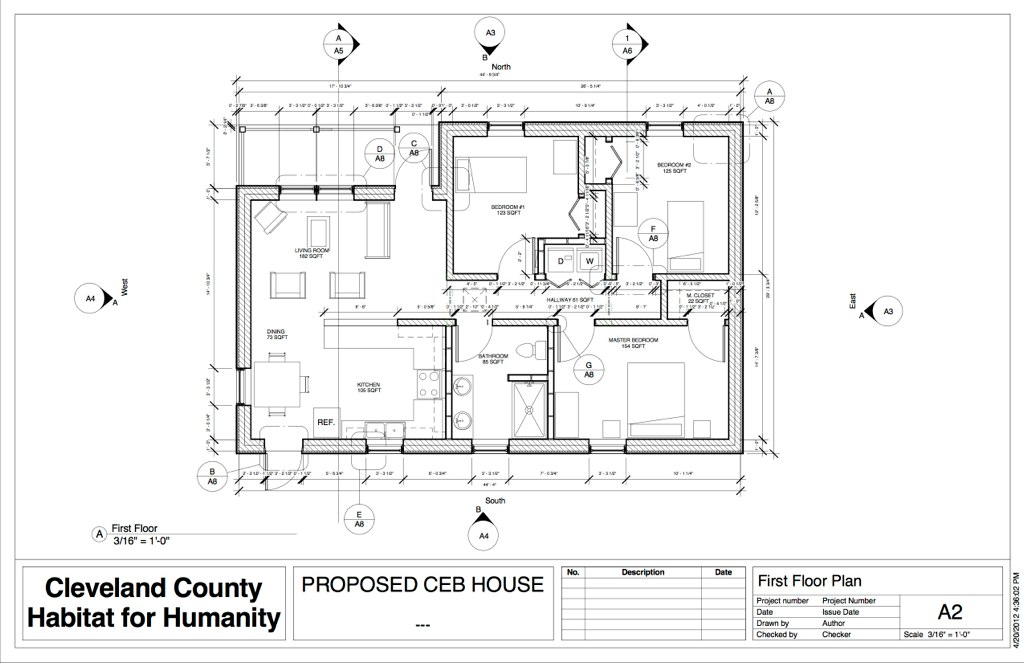 Ceb Revit Plan 4 18 12 Sheet A2 First Floor Plan Cop Flickr