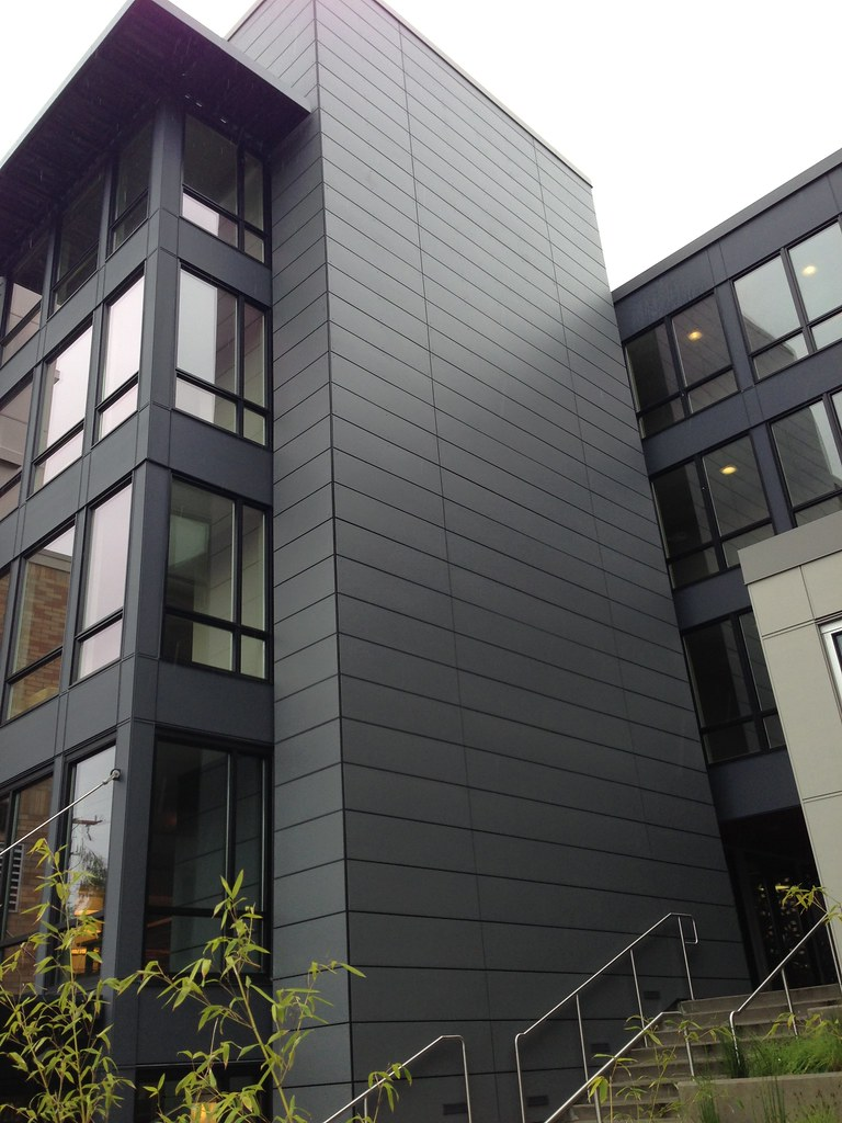 The Lyric Apartments Seattle Gray Fiber Cement Boards
