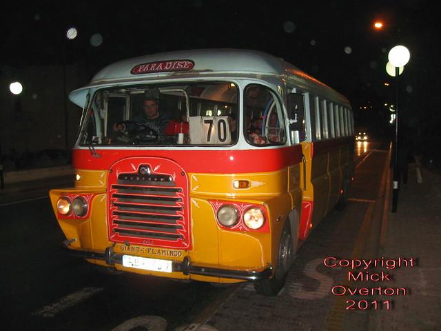Malta bus Bedford FBY709 5.4.2011