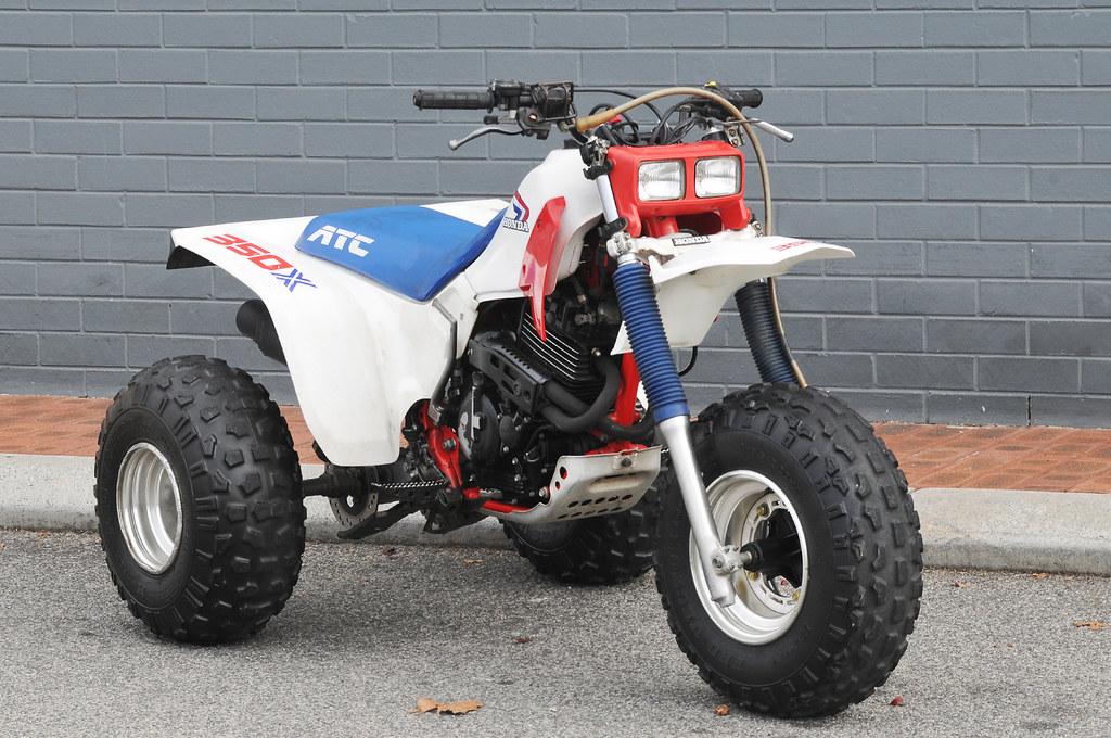 Honda ATC 350X   Retro Honda ATC 350X Mint condition 350cc 3
