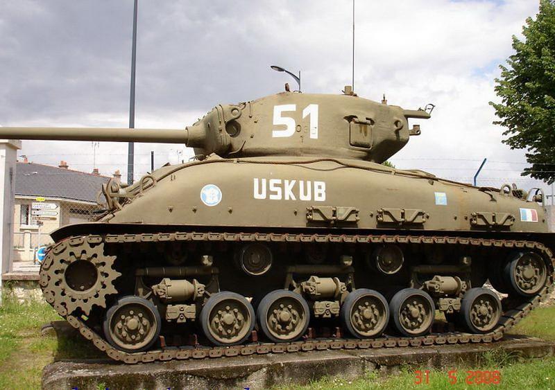 M4A1谢尔曼(4)