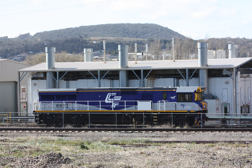 CM3301 at Goulburn by Alan Greenhill