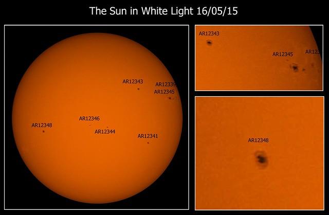 Sun in White Light 16/05/15