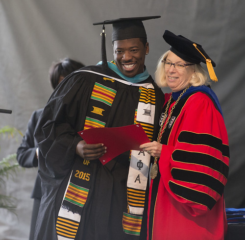 Claremont Graduate University Commencement 2015