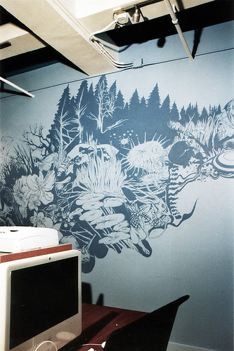 mural at The Wonderfactory office 2 | by mimsmiss