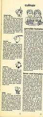 Uw Horoscoop 30 augustus 1969
