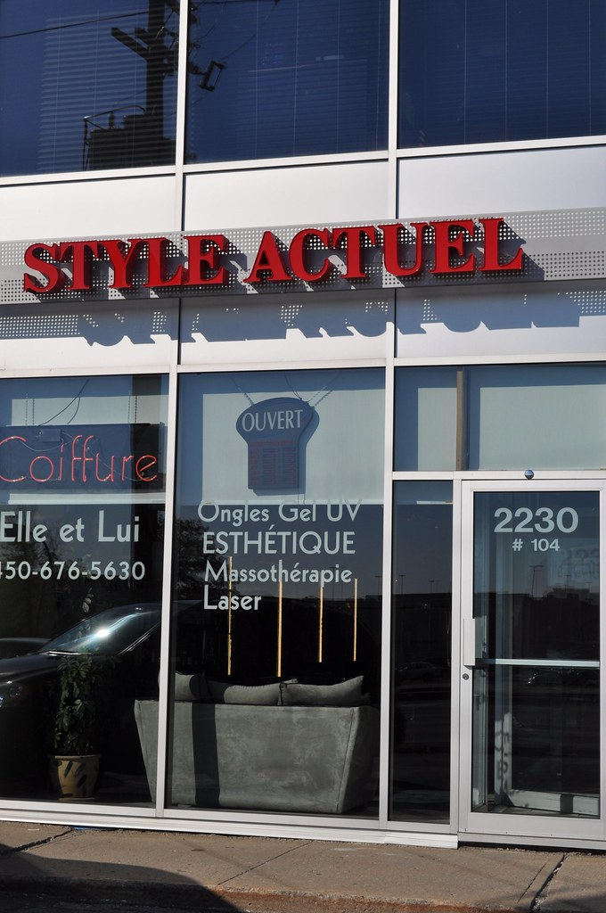 Brossard Hair Salon | Style Actuel Coiffure 2230 Boulevard L… | Flickr