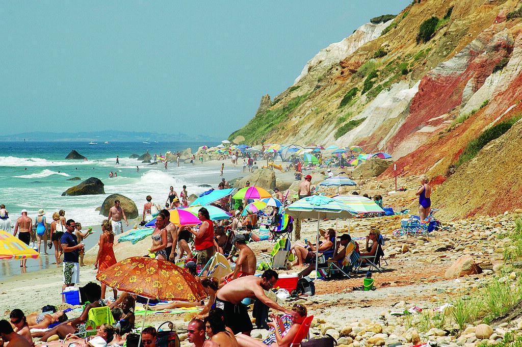 Aquinnah beach cliffs