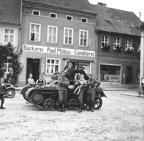 Deutscher Panzer 1