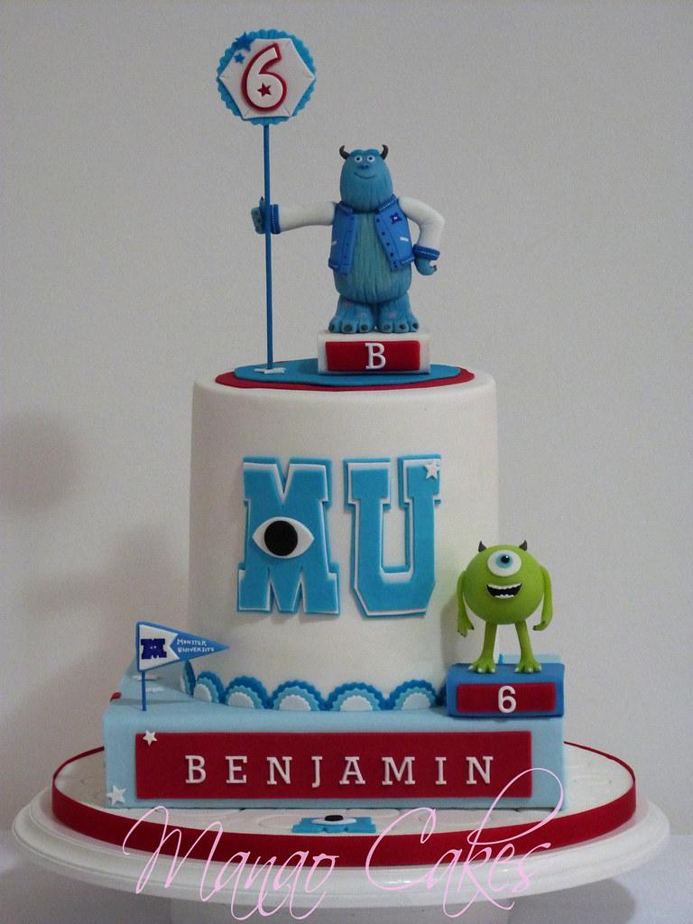 Wondrous Cake Monster University Monster University Erica Giovanetti Personalised Birthday Cards Epsylily Jamesorg