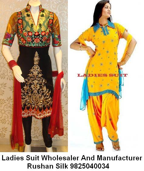 Cotton Punjabi Ladies Suit Manufacturer Suppliers   Rushan S