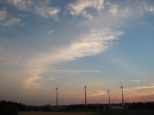 sunrise germany bayern deutschland bavaria day clear trogen