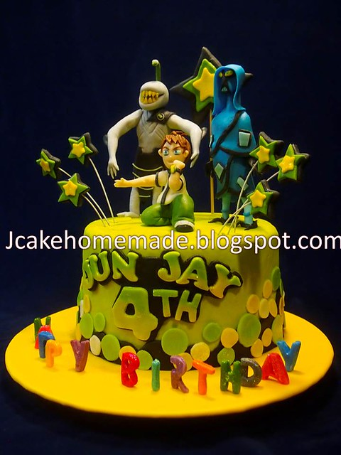 Ben Ten birthday cake