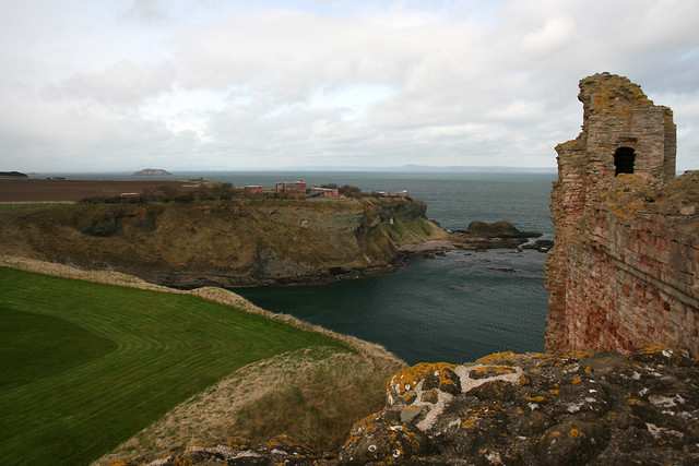 View from Tantallon Castle