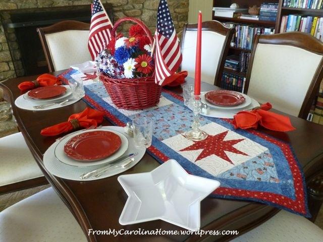 Patriotic Tablescape 7